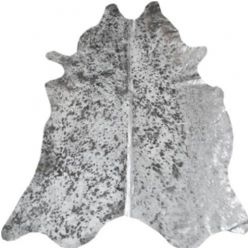 Moo Silver Cow Hide